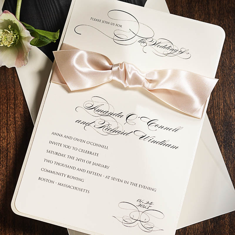 wedding invitations - persnicketypersnickety invitation studio, Wedding invitations