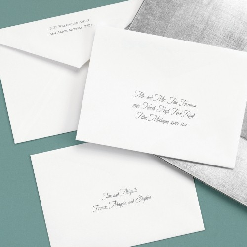 Addressing Your Envelopes • Persnickety Invitation ...