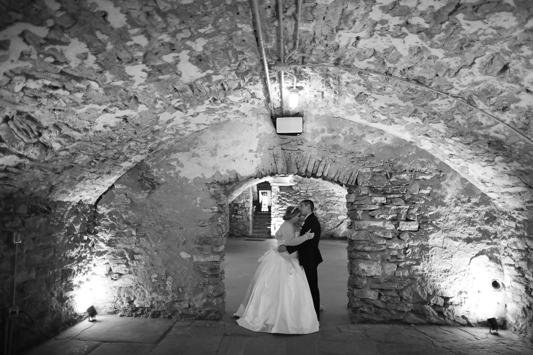 wedding excelsior catacombs