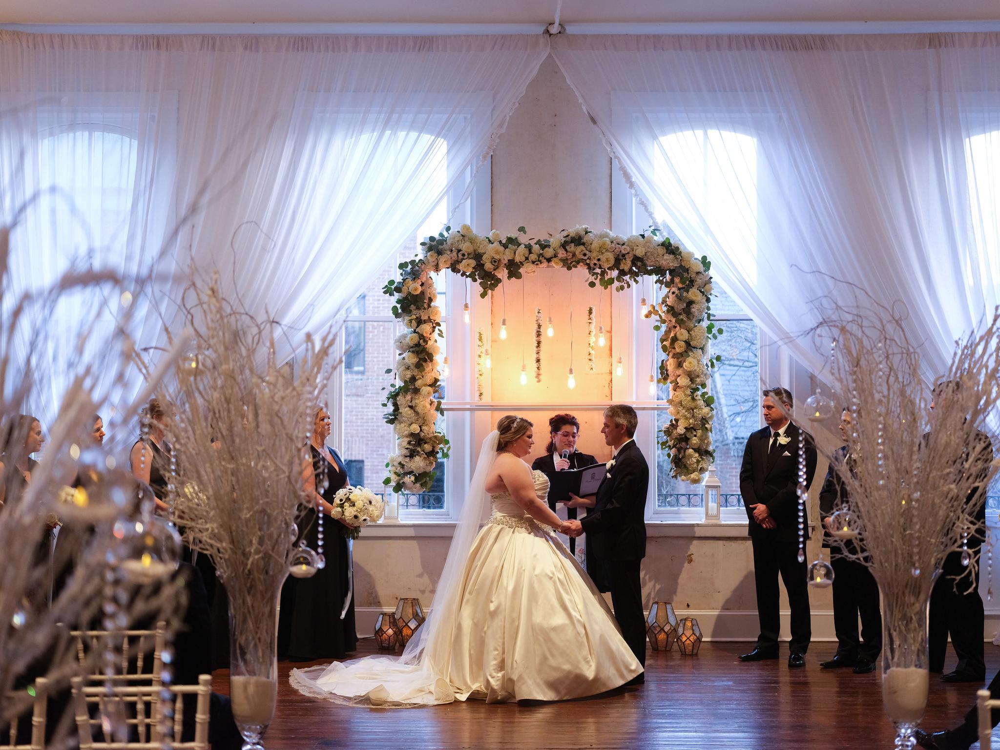 winter wedding pennsylvania