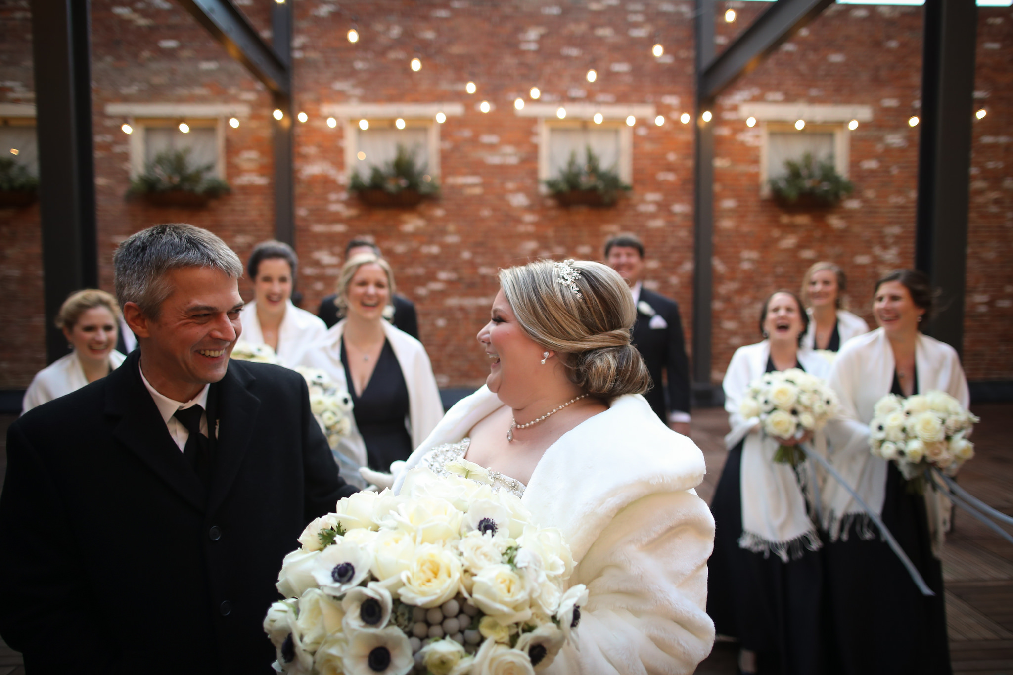 winter wedding excelsior