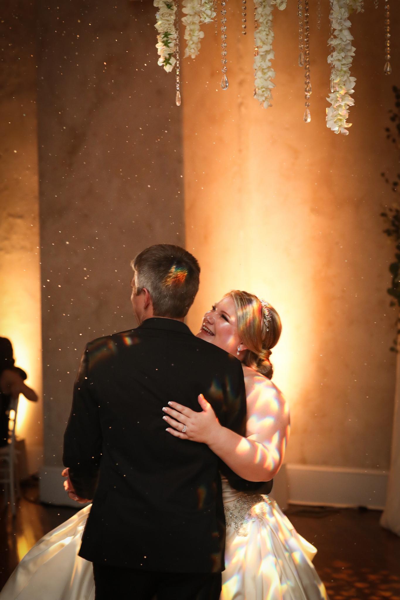 winter wedding first dance excelsior
