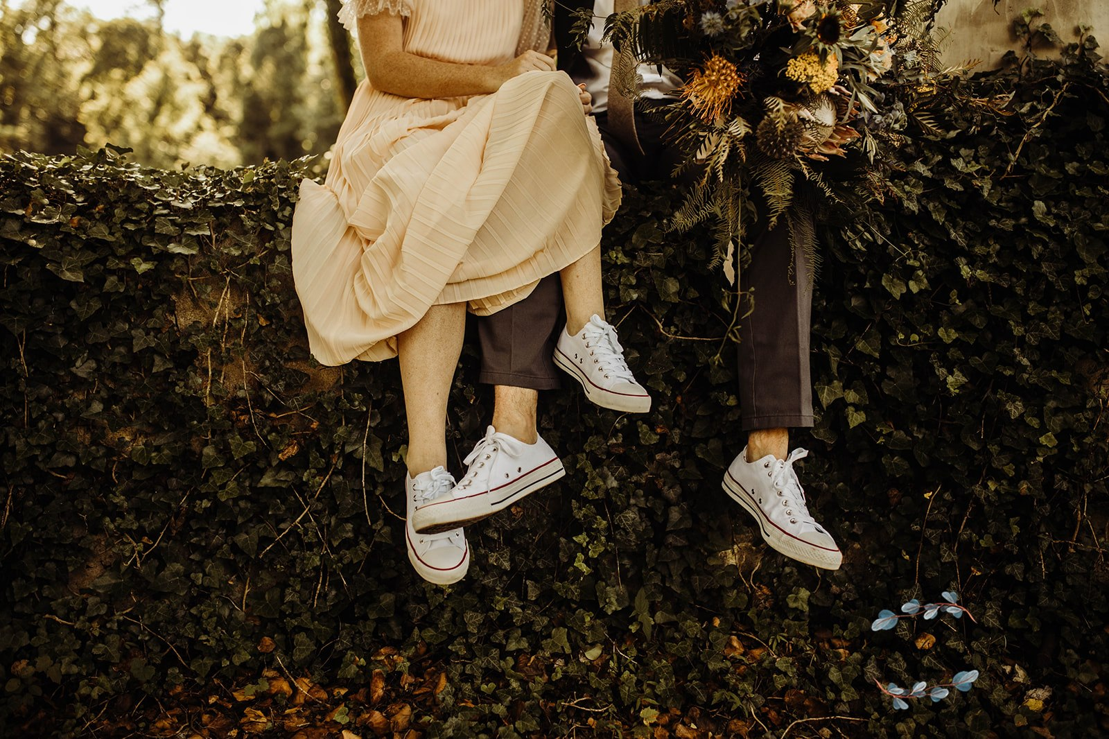 stranger things wedding photo shoot
