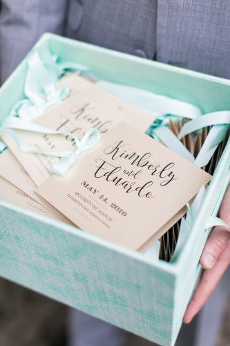 square ceremony booklet program wedding accessories