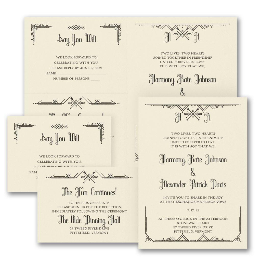 captivating love wedding invitation budget friendly
