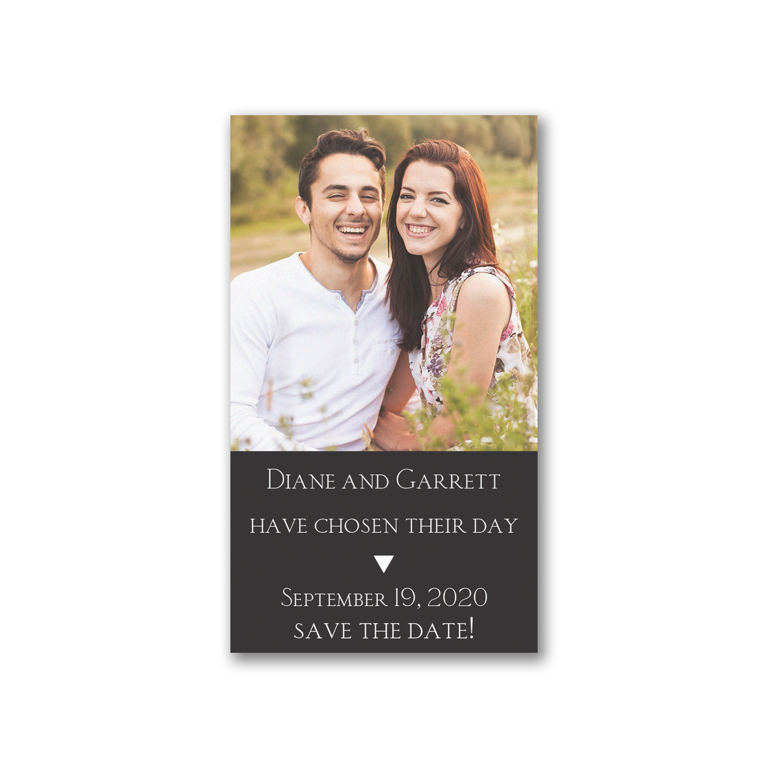 chosen day photo save the date magnet carlson craft
