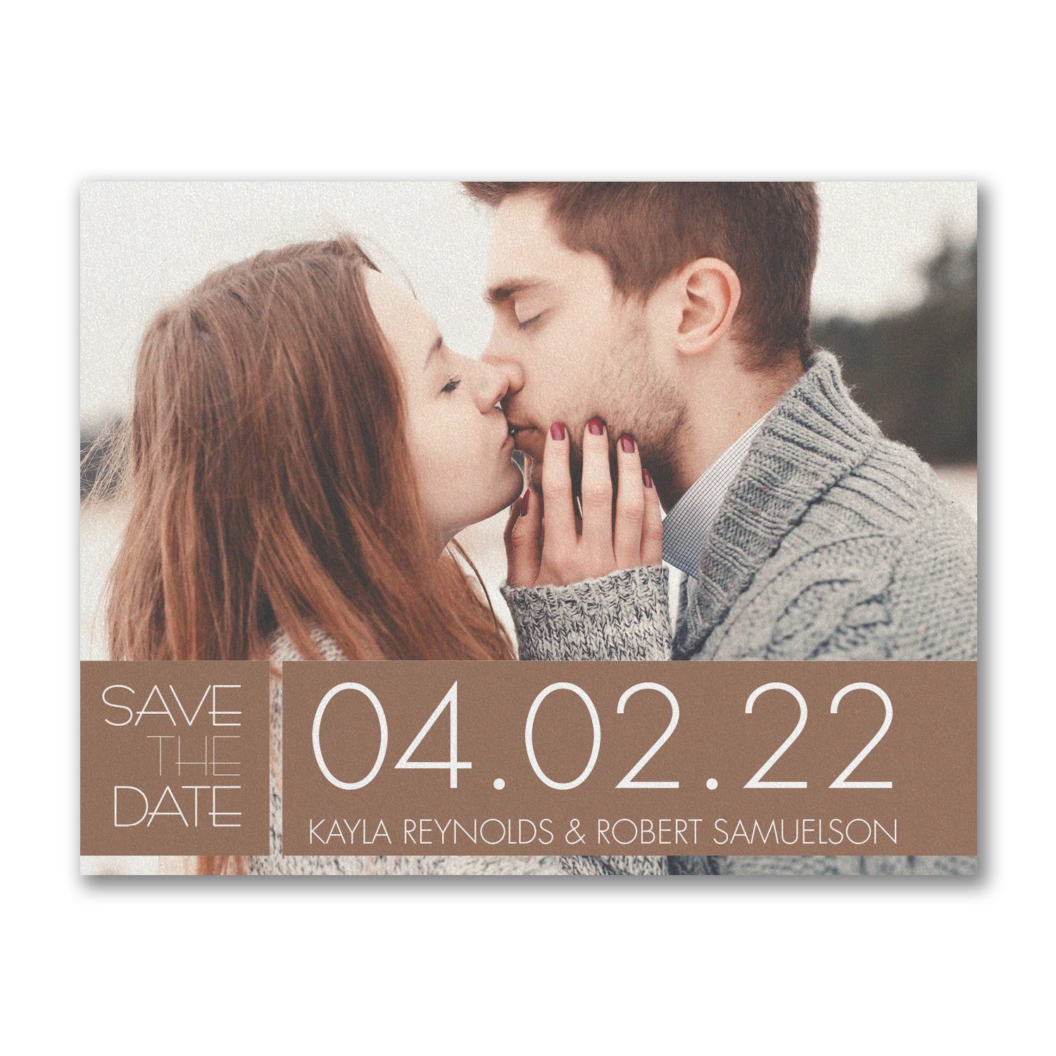 color block date photo save the date carlson craft