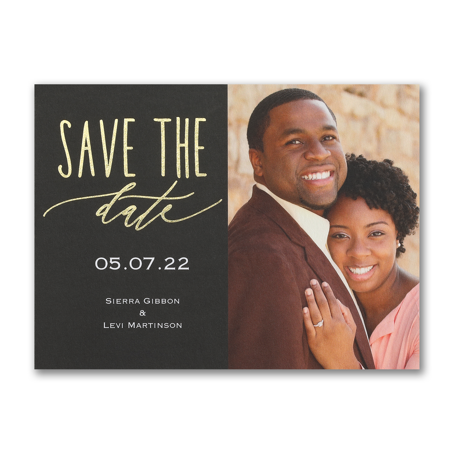 custom day photo save the date carlson craft