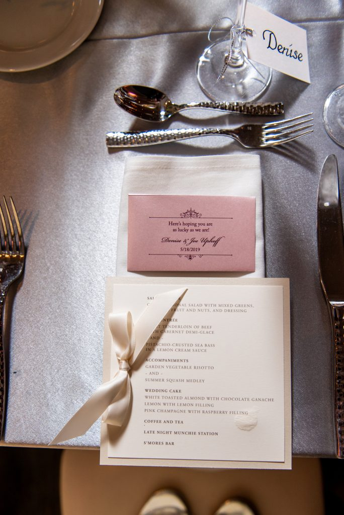 persnickety invitation studio menu custom design