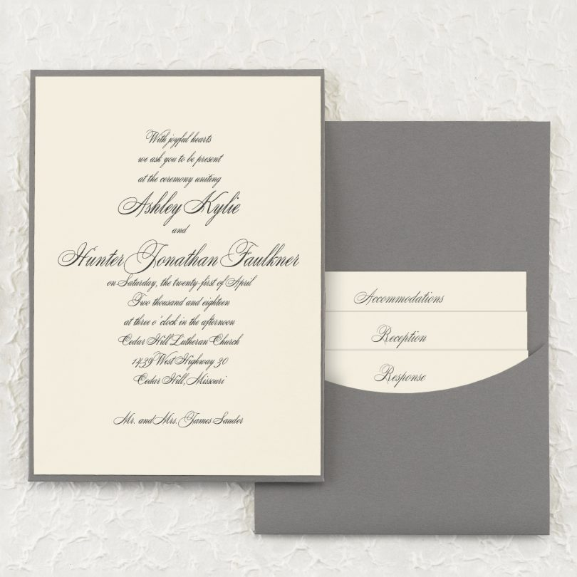Fifty Shades Of Grey Persnickety Invitation Studio