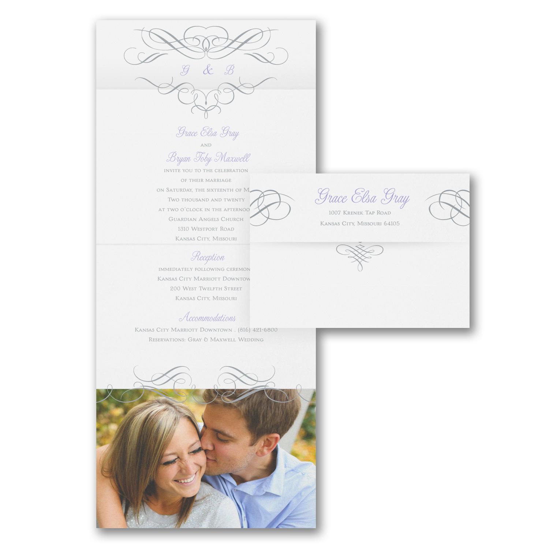 photo wedding invitation budget friendly