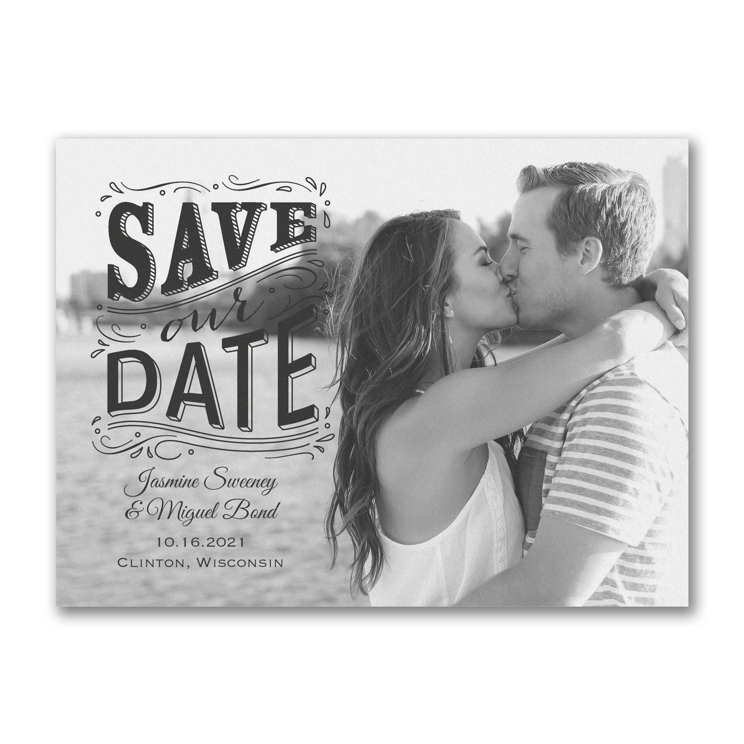 our day photo save the date carlson craft