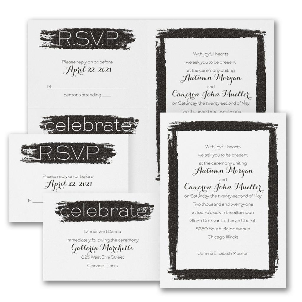 watercolor wedding invitations budget friendly