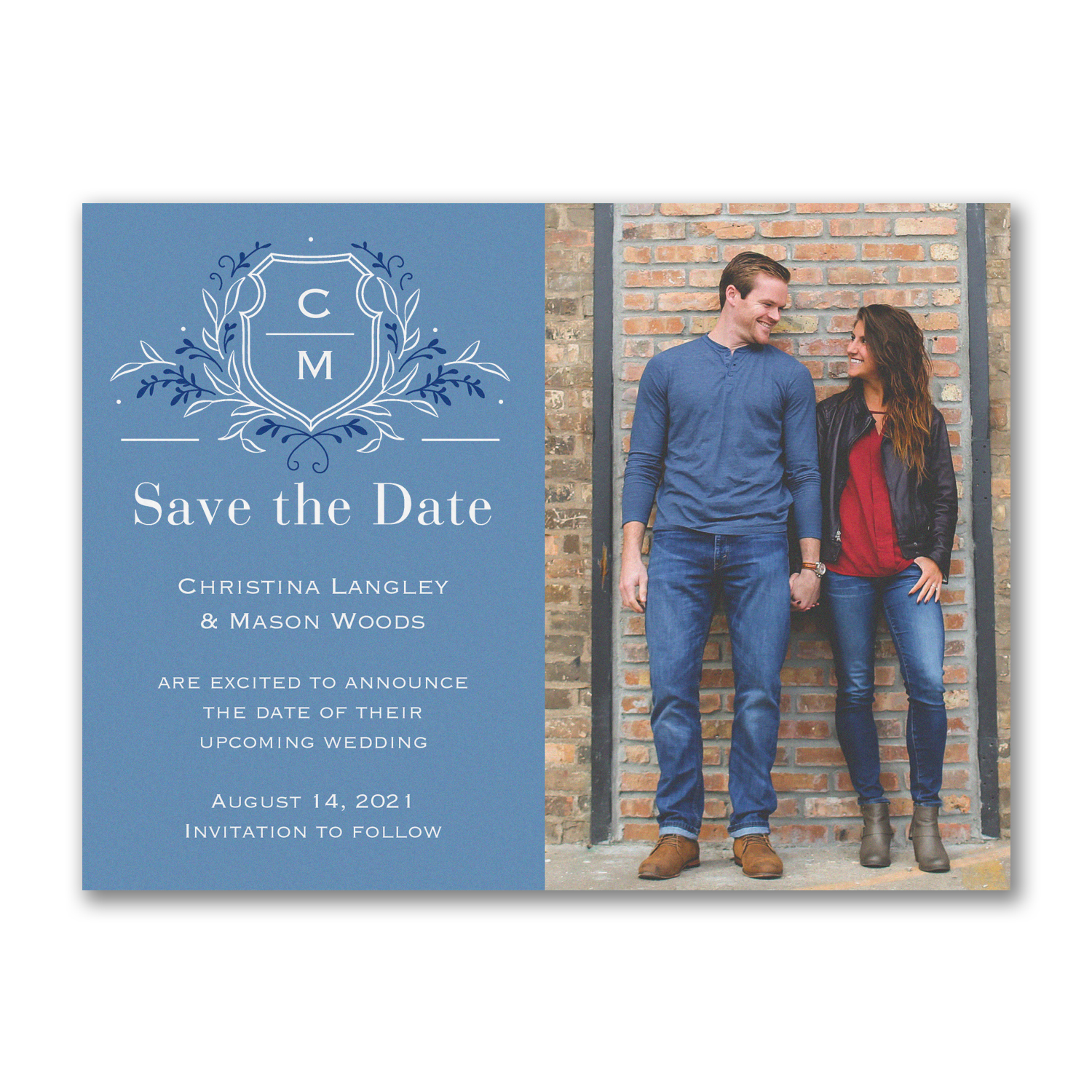 regal crest photo save the date carlson craft