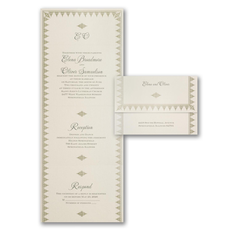 royal engagement wedding invitation budget friendly