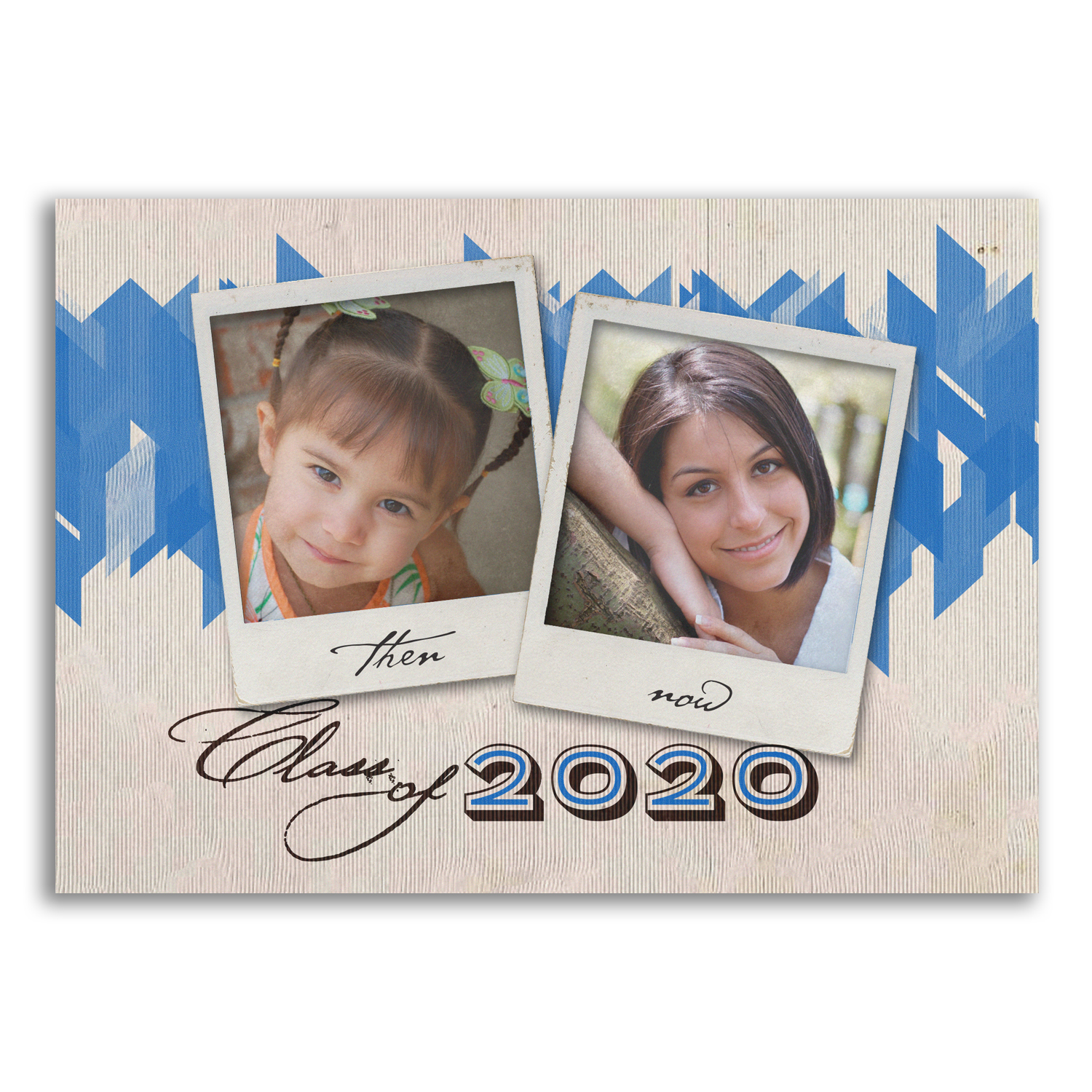 snapshot grad photo collage graduation announcement