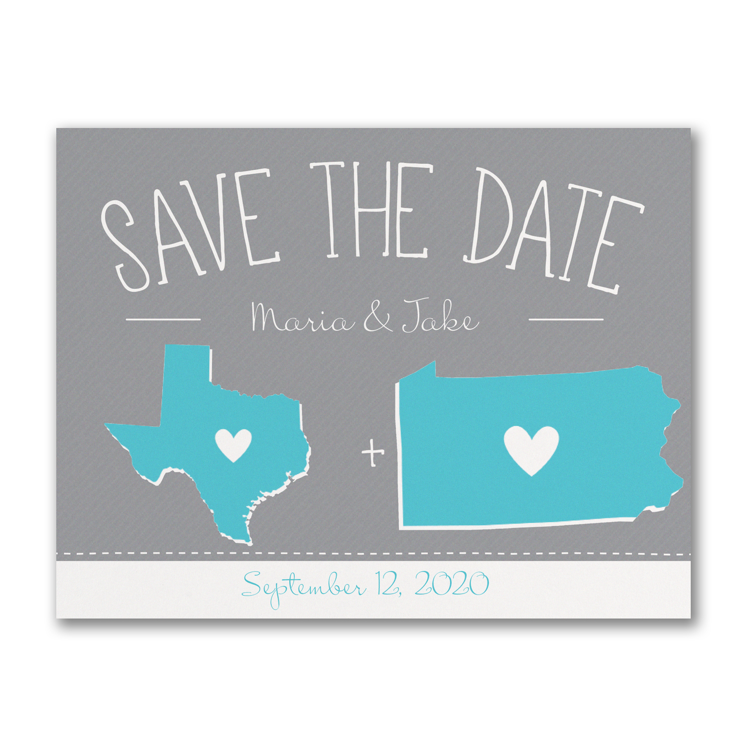 State of Matrimony save the date carlson craft