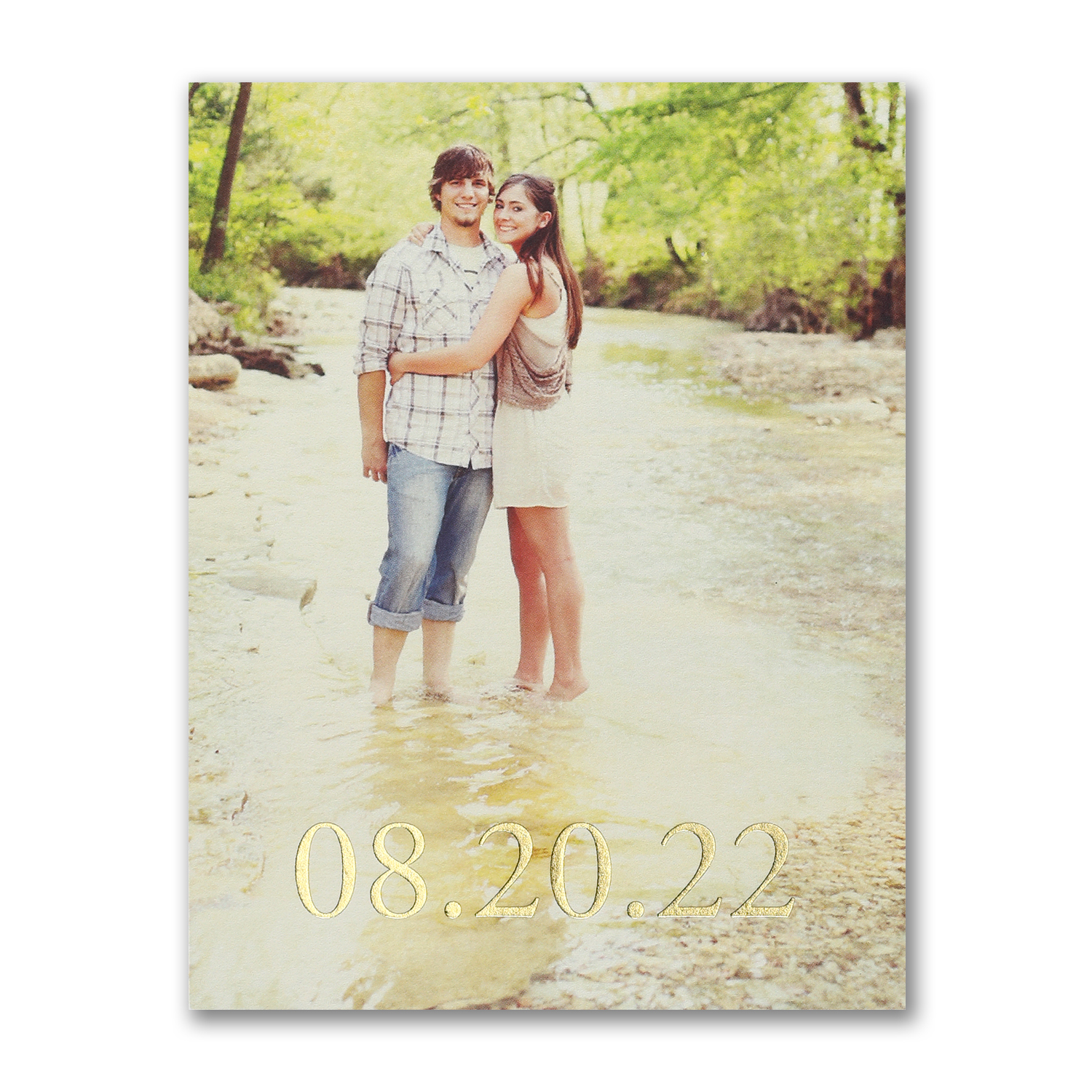 tie the knot photo save the date carlson craft