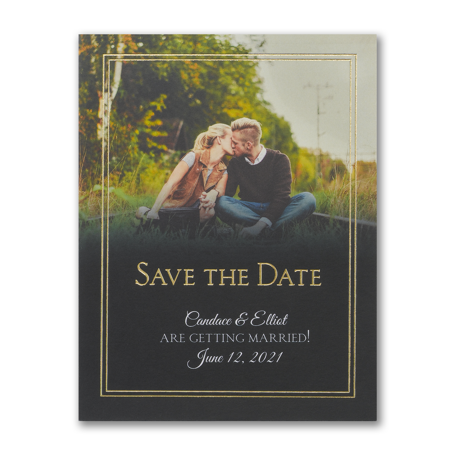 traditional date save the date carlson craft