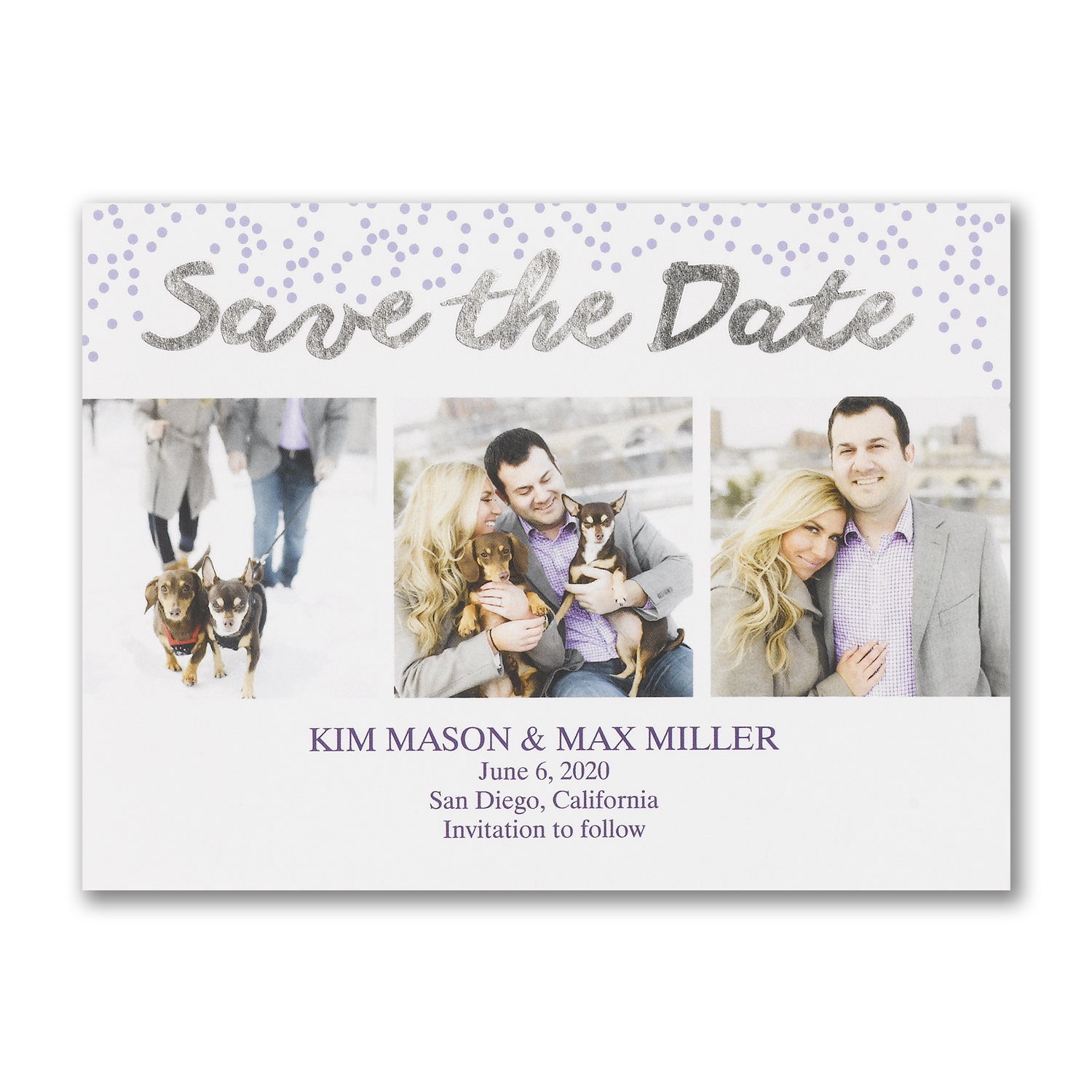 watercolor wash save the dates carlson craft