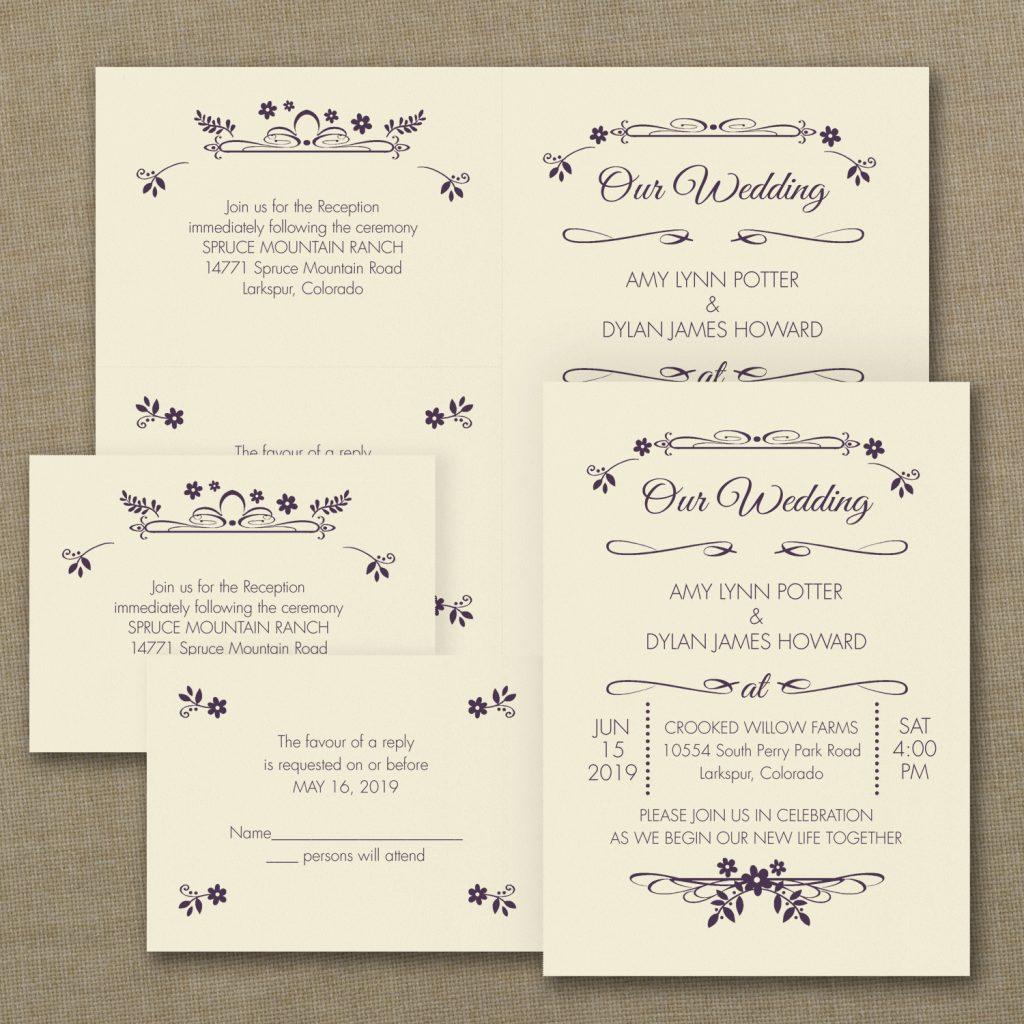 wedding flowers invitation budget friendly