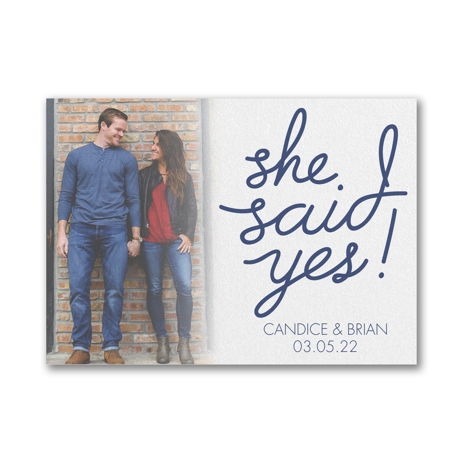 yes to love save the date carlson craft