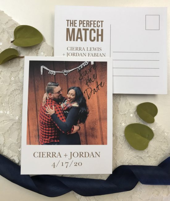 Our bond save the date carlson craft