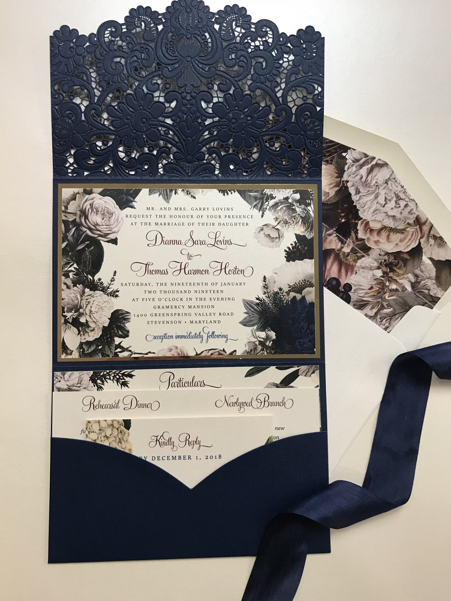 Some Of Persnickety S Custom Invitations
