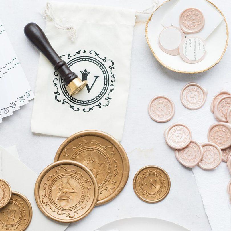 wax seal stamper wedding invitations
