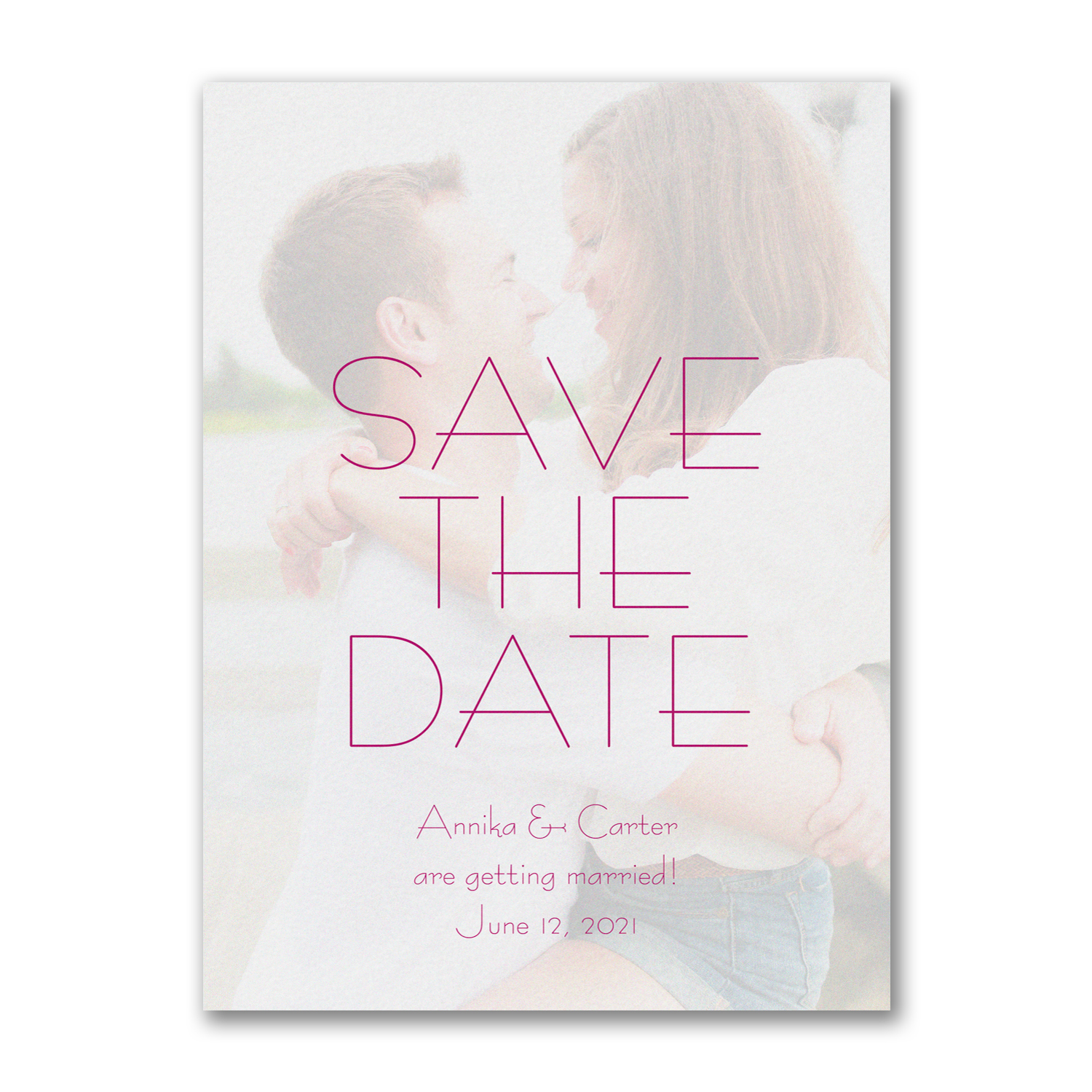 contemporary day save the date photo carlson craft