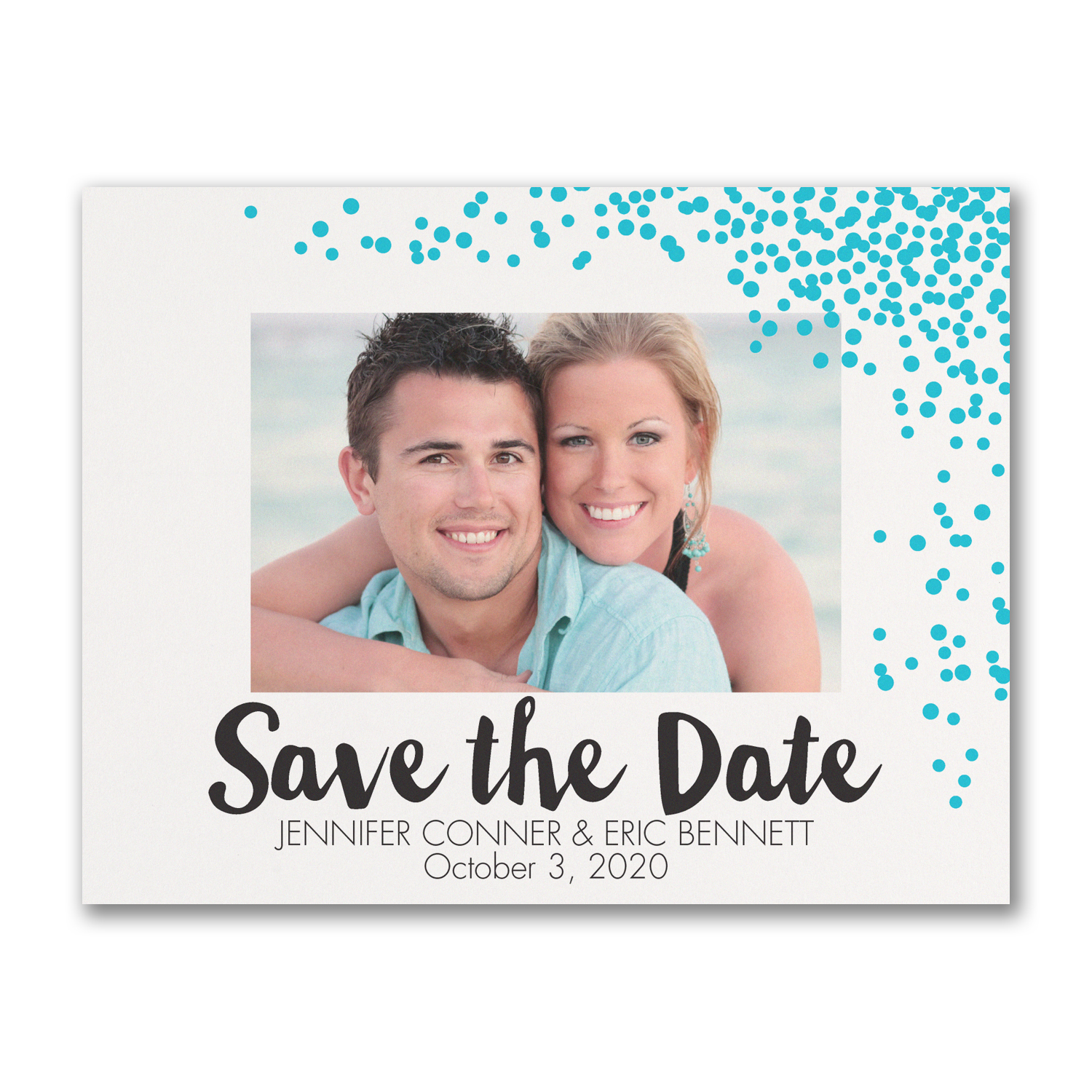 dotted date photo save the date carlson craft