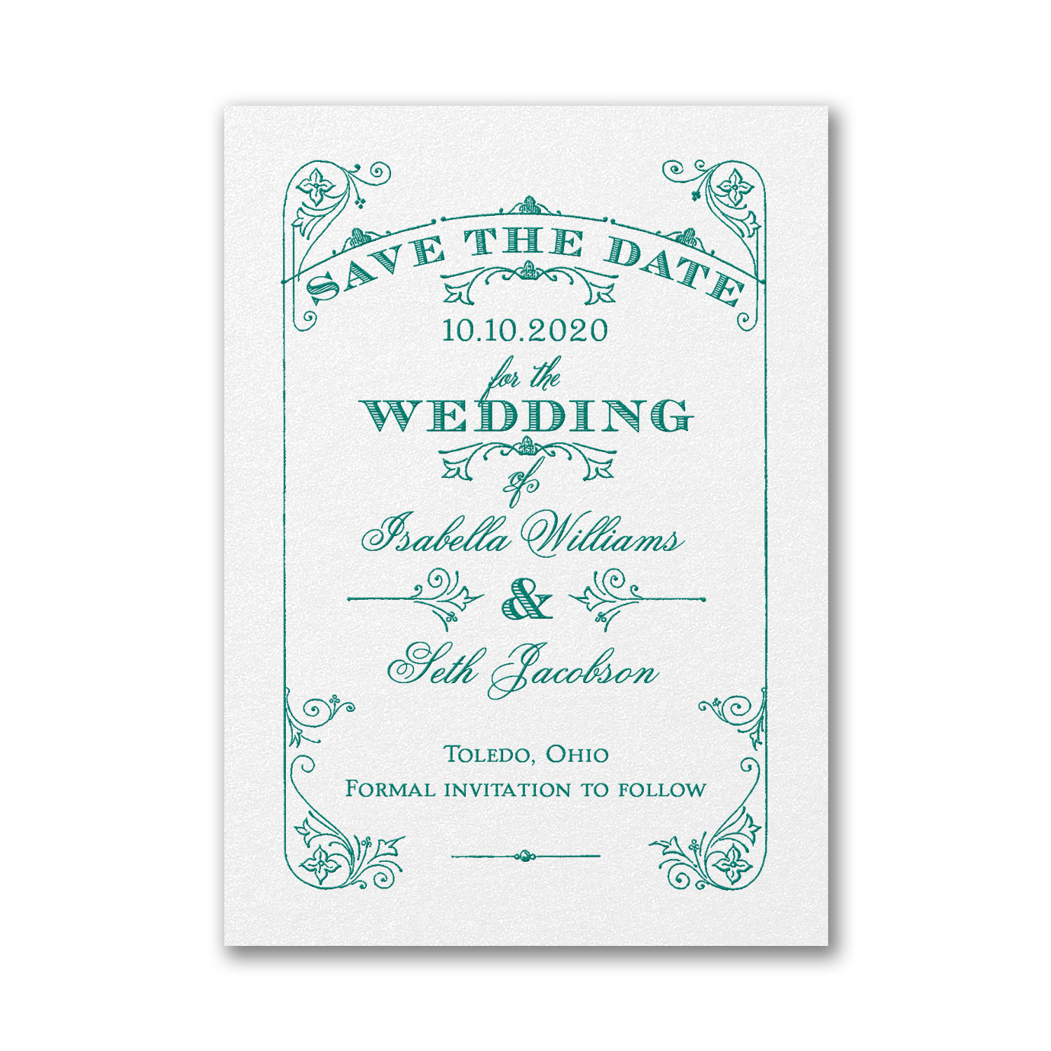magical day vintage save the date carlson craft