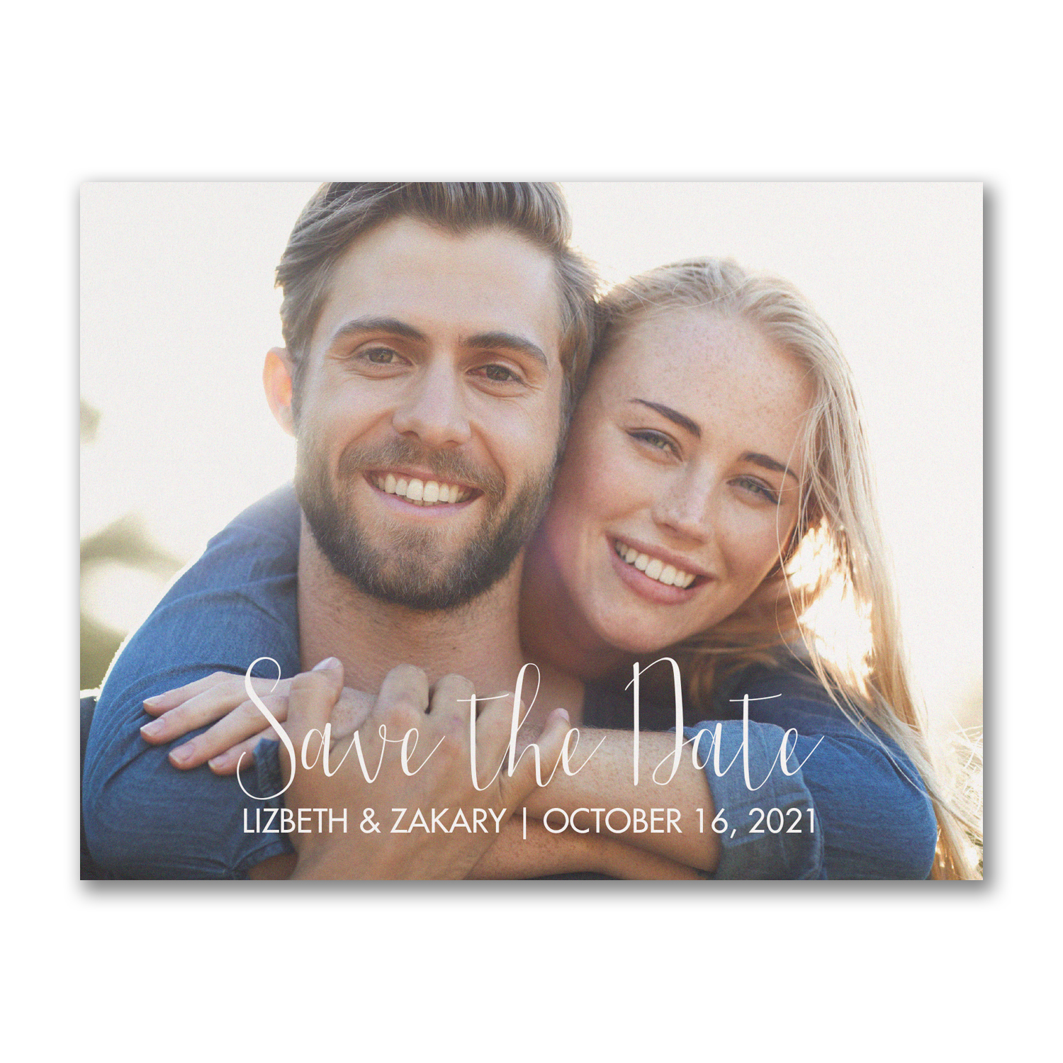 photo save the date postcard affordable