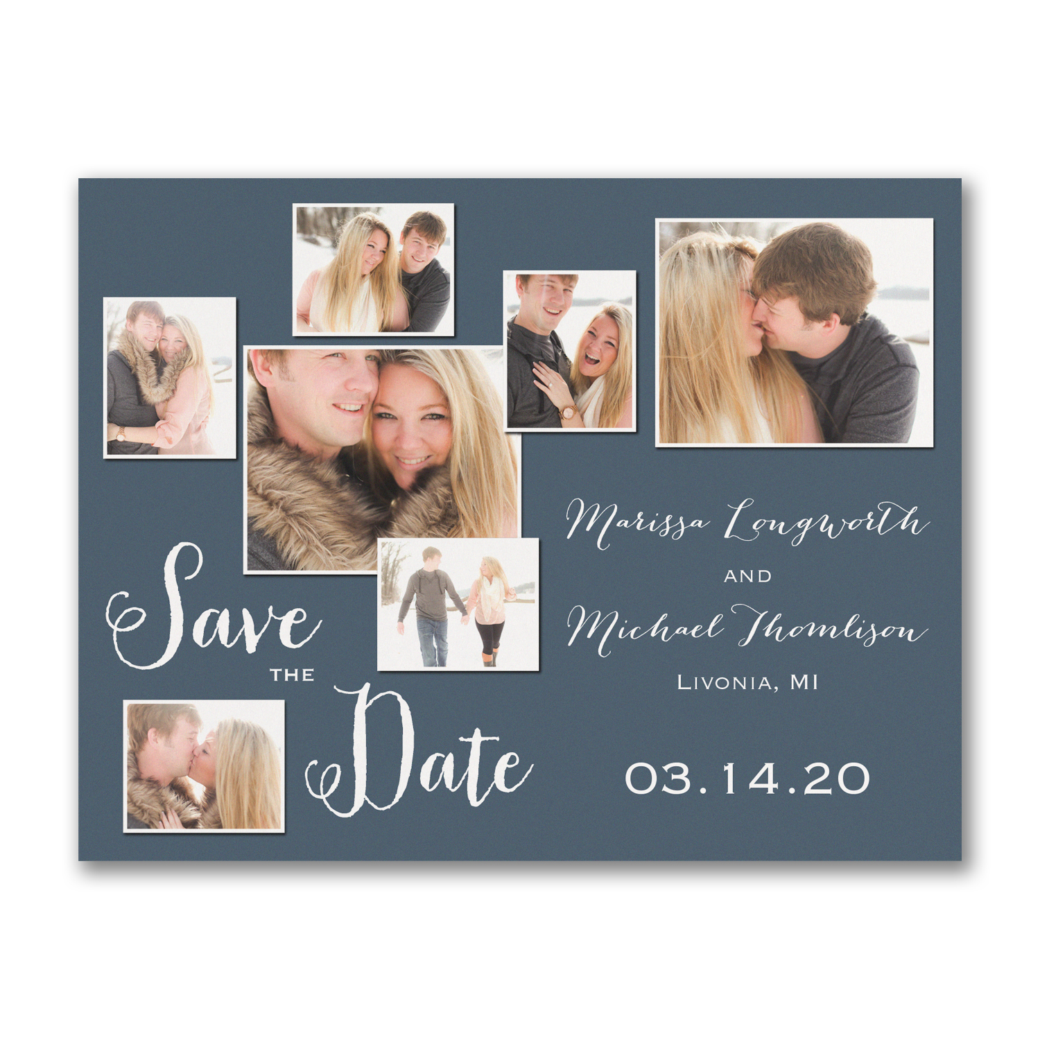 photo shoot collage save the date carlson craft