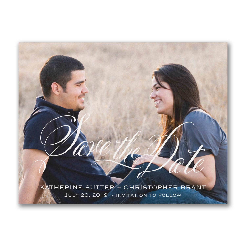 romance photo save the date carlson craft