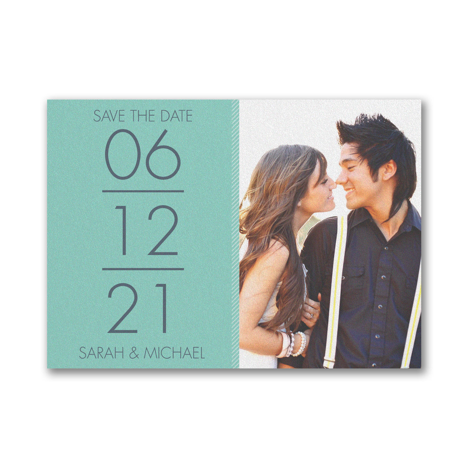 stacked love save the date carlson craft