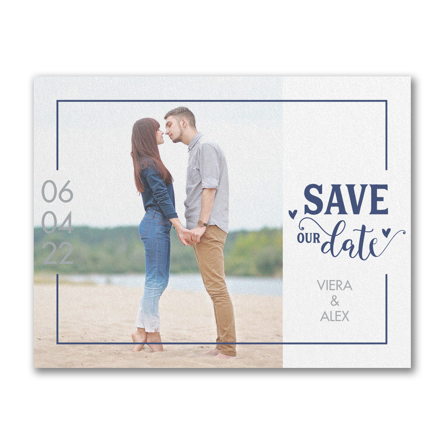 Unique Affection save the date carlson craft