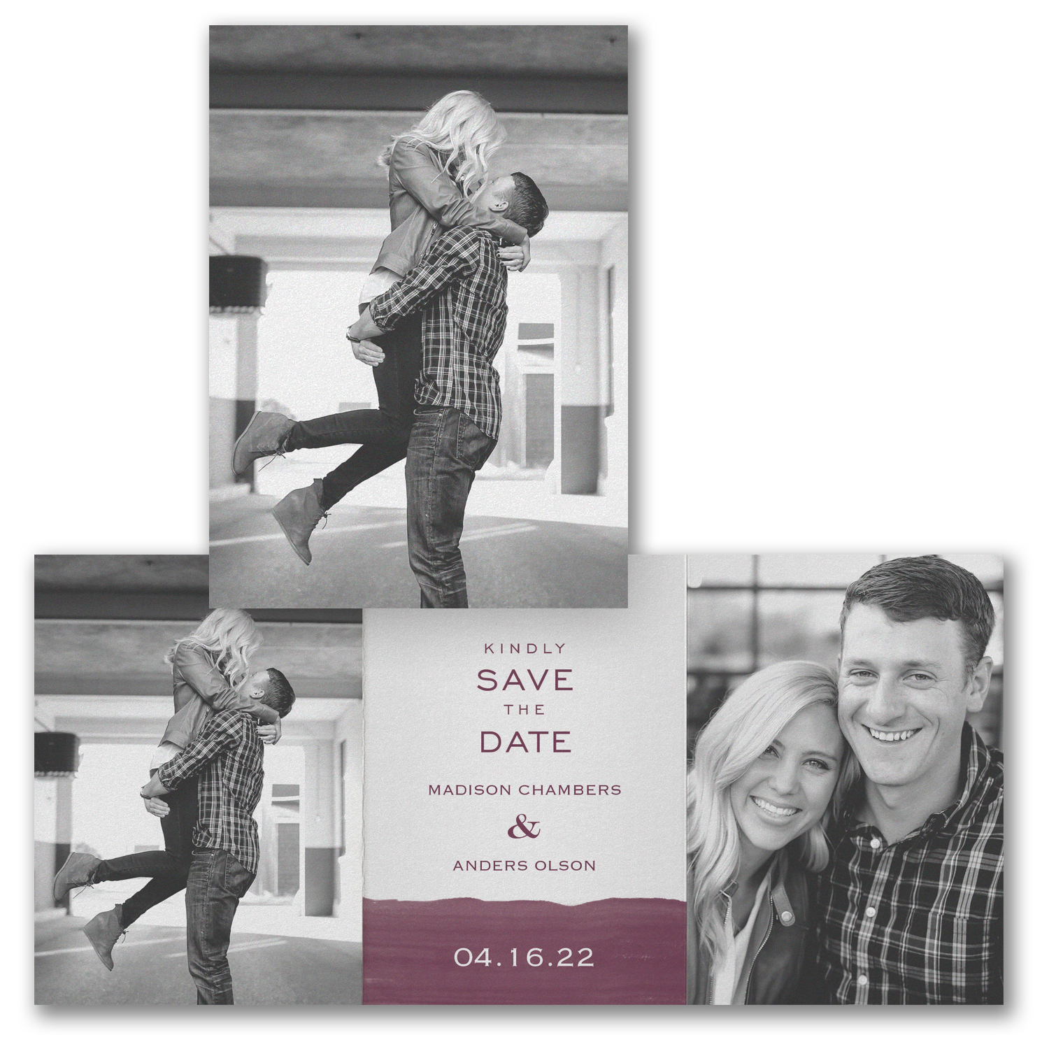 watercolor block save the date carlson craft